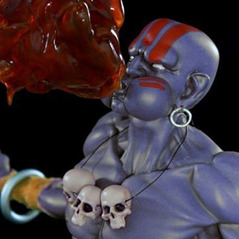 Dhalsim Player 2 Version Statue