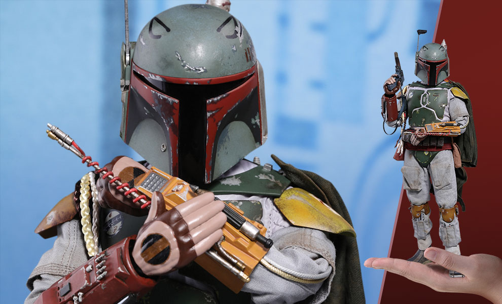 Boba Fett Deluxe Version Sixth Scale Figure