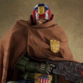 Judge Dredd Cursed Earth Statue