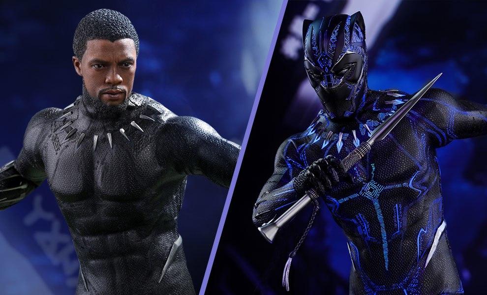 07d740f4 Hot Toys Marvel Black Panther Figure