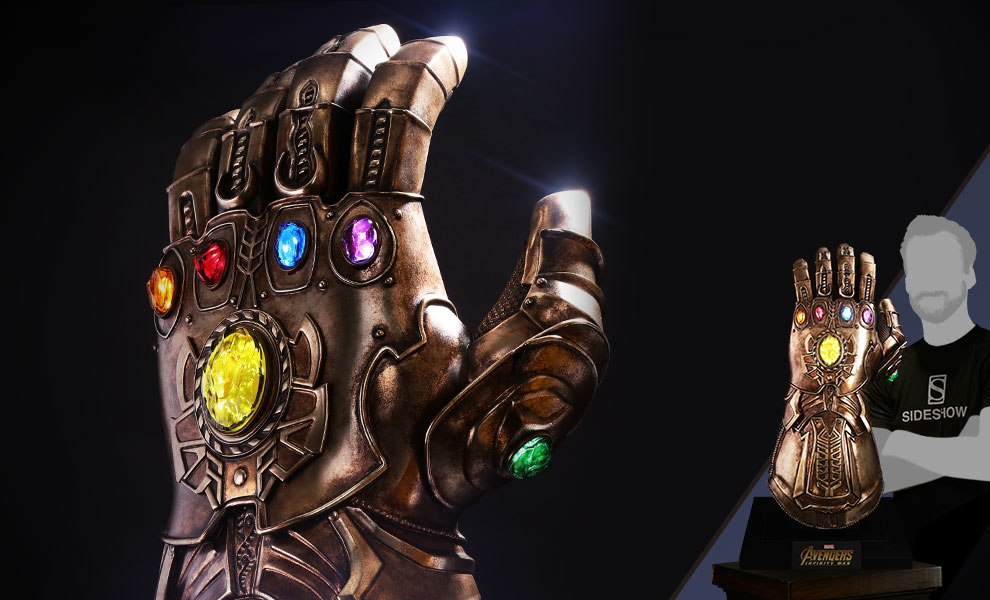 thanos gauntlet 3d model download