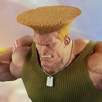 Guile Ultimate Statue