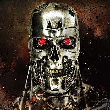 T-800 Endoskeleton The Terminator Statue