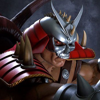 Shao Kahn on Throne Statue