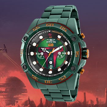 Boba Fett Watch - Model 26544 Jewelry