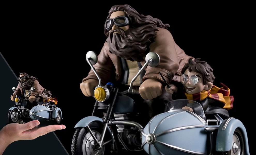 Harry Potter and Rubeus Hagrid Q-Fig Max Diorama