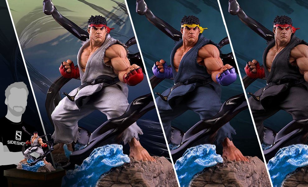 Ryu V-Trigger Collectible Set