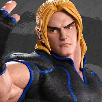 Ken Masters Player 2 Blue Statue