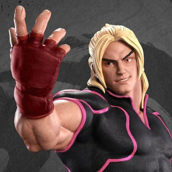 Ken Masters Player 2 Pink Statue