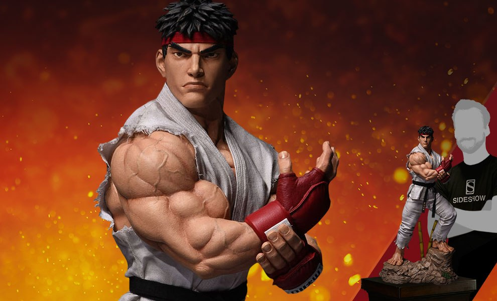 Street Fighter Ryu Statue By Pop Culture Shock Sideshow Collectibles