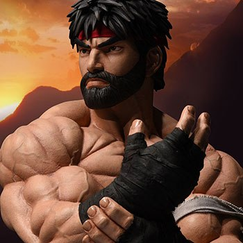 Ryu Battle Version Statue