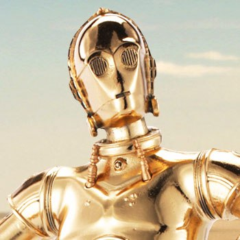 C-3PO Figurine Pewter Collectible