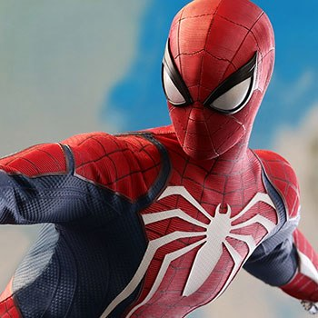 Spider-Man Advanced Suit Sixth Scale Figure