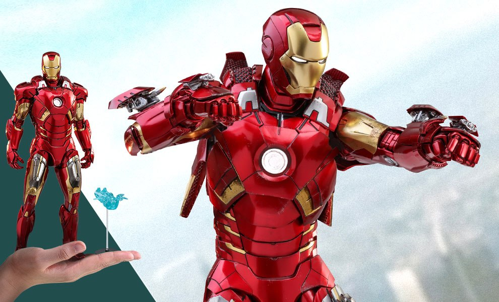 Iron Man Mark VII Special Edition Sixth Scale Figure