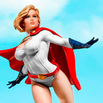 Power Girl Statue