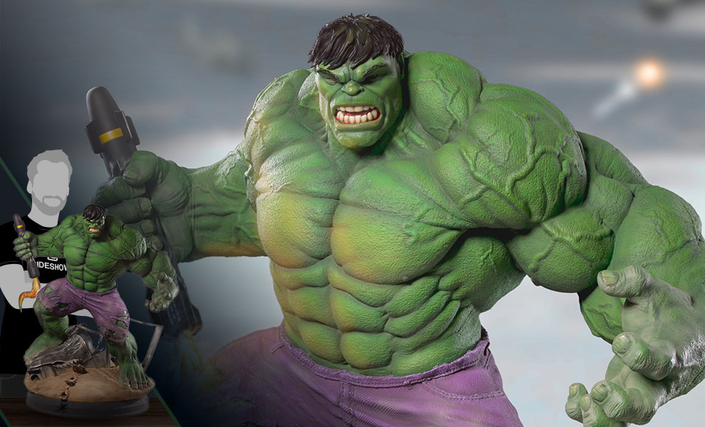 separation shoes 800fe 924af Marvel Hulk Statue by Iron Studios   Sideshow Collectibles
