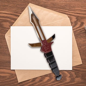 Klingon Dk Tahg Letter Opener Office Supplies