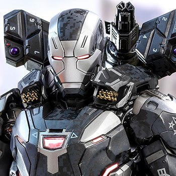 Marvel War Machine Mark Iii Collectible Bust By Hot Toys Sideshow
