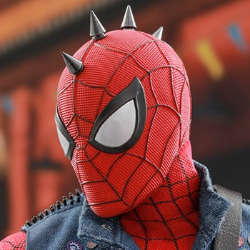 Spider-Man Spider-Punk Suit Sixth Scale Figure