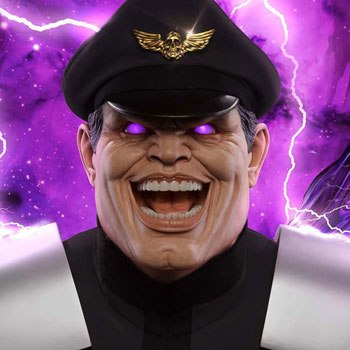 M Bison Player 2 Life-Size Bust