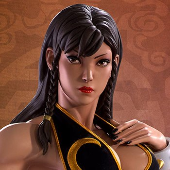Chun-Li Battle Dress Statue