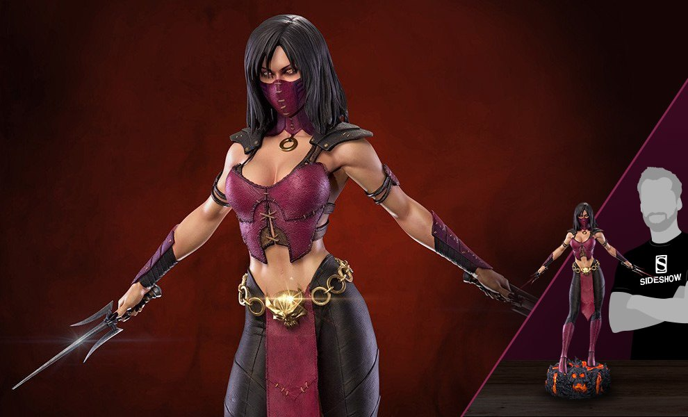 Mortal Kombat Mileena Mkx Statue By Pop Culture Shock Sideshow