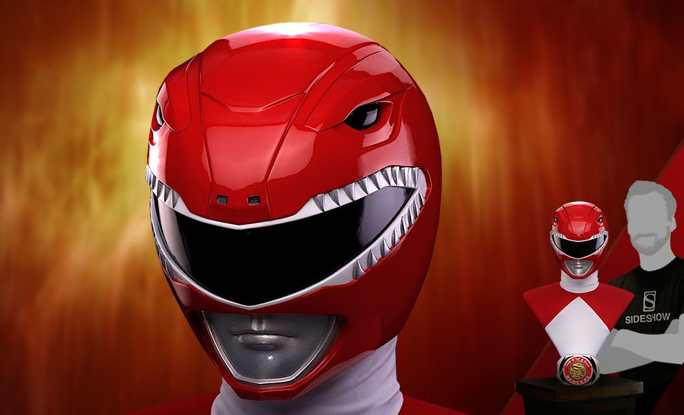 606717d84 Mighty Morphin Power Rangers Red Ranger Life-Size Bust by Po