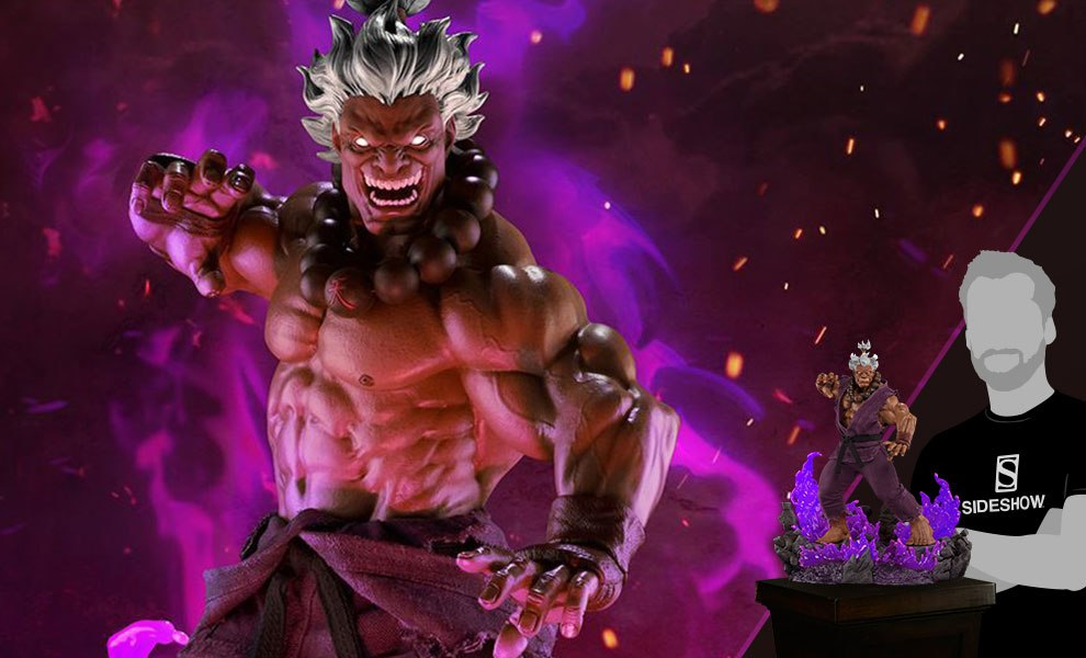 Shin Akuma 10 Year Ultimate Statue
