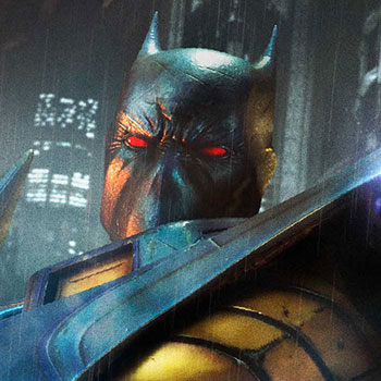 Knightfall Batman Statue