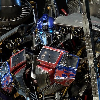 Jetpower Optimus Prime Statue