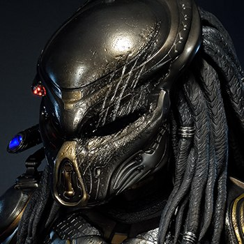 Fugitive Predator Deluxe Version Life-Size Bust