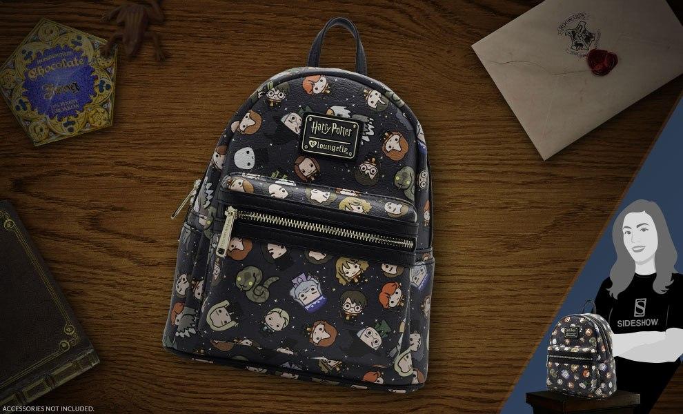 Harry Potter Chibi Print Mini Backpack Apparel  29490ef4cf799