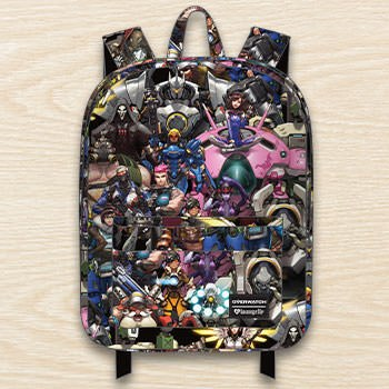 Overwatch All Over Print Backpack Apparel