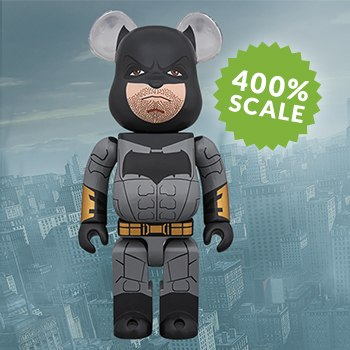 Bearbrick Batman Justice League Version 400 Figure
