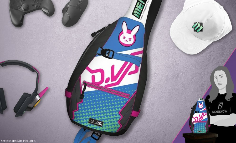 c5d1d171732 Overwatch DVa Sling Backpack Apparel by Loungefly