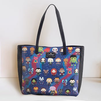 Avengers Infinity War Kawaii Print Tote Bag Apparel