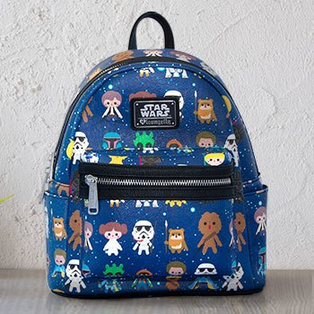 Star Wars Baby Character Print Mini Backpack Apparel