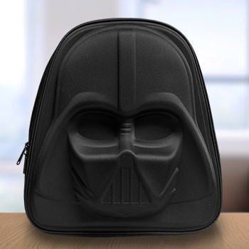 Darth Vader 3D Molded Nylon Backpack Apparel