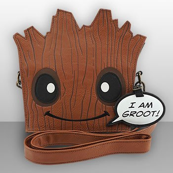 Groot Die Cut Crossbody Bag Apparel