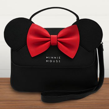 Minnie Ears and Bow Crossbody Bag Apparel
