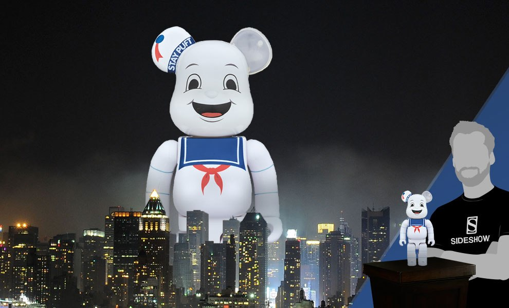 Bearbrick Stay Puft Marshmallow Man 400 Figure
