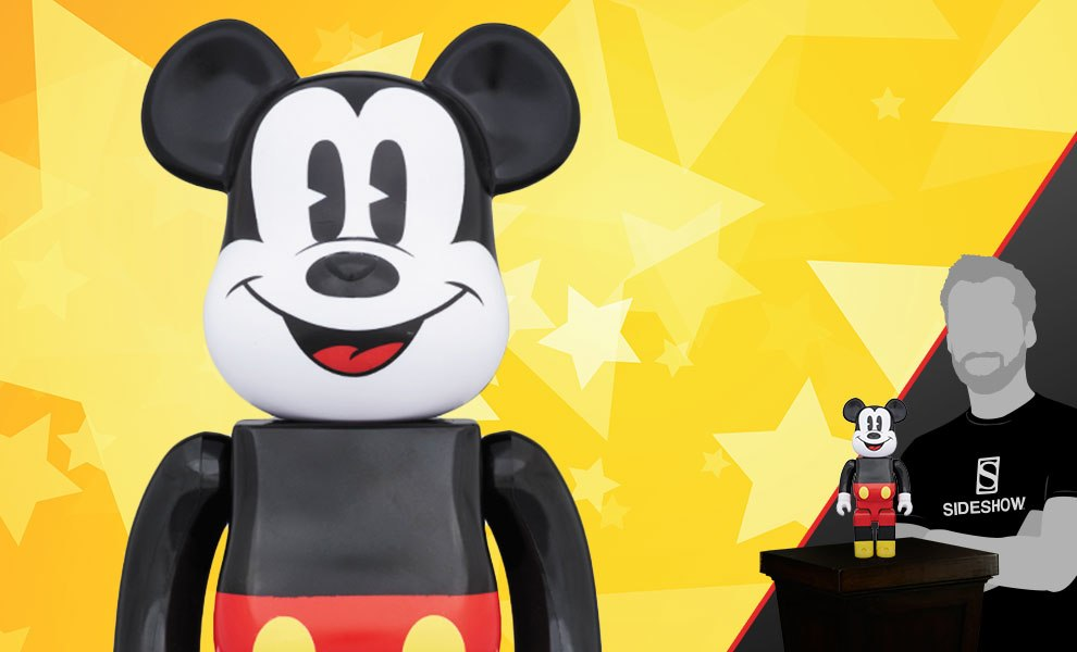 Bearbrick Mickey Mouse 400 Figure