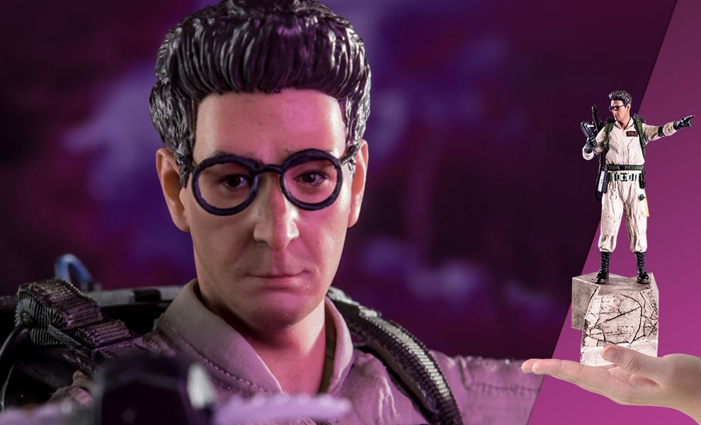 Ghostbusters Egon Spengler Statue By Iron Studios Sideshow