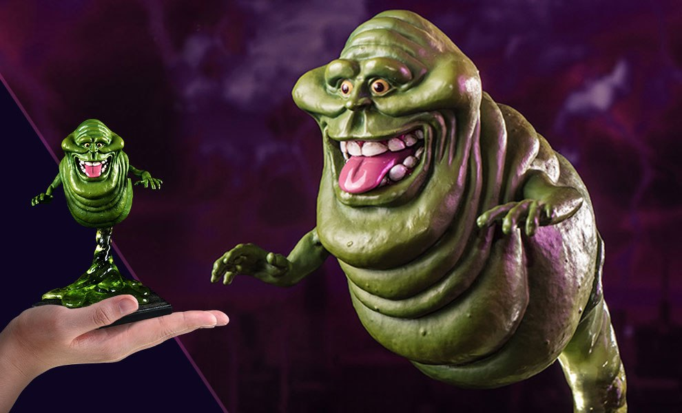 Ghostbusters Slimer Statue By Iron Studios Sideshow Collectibles