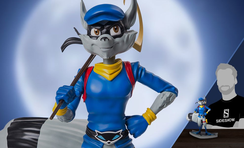 Sly Cooper 3 Classic Edition Statue