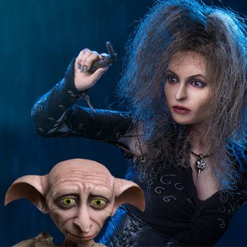 Bellatrix Lestrange Deluxe Twin Pack Sixth Scale Figure