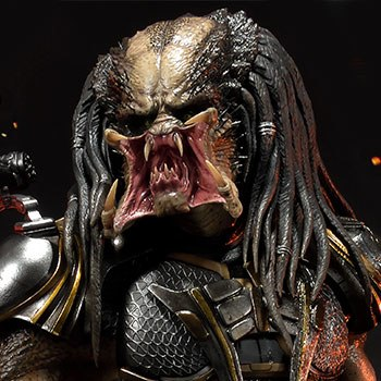 Fugitive Predator Deluxe Version Statue