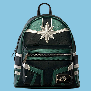 Captain Marvel Training Mini Backpack Apparel