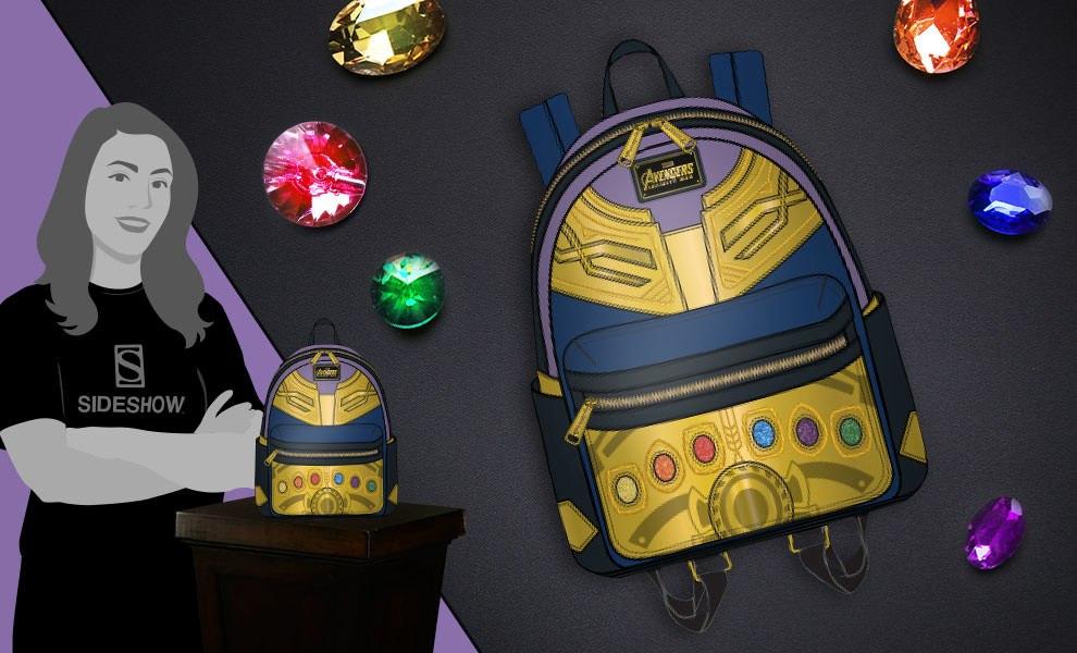 Marvel Thanos Mini Backpack Apparel by Loungefly  650e87a22dea1