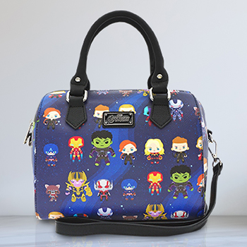 Infinity War Chibi Print Duffle Bag Apparel